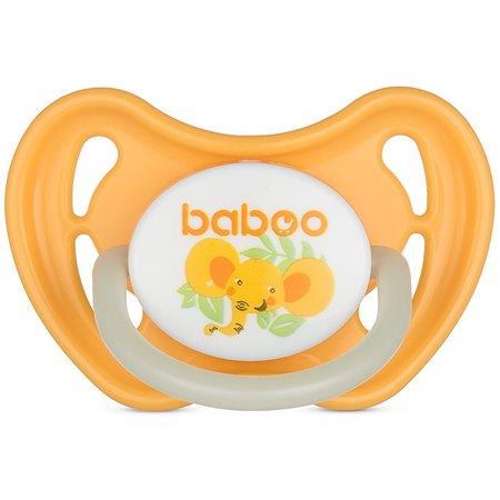 Соска-пустышка BABOO Safari ночная с 0месяцев 5-317