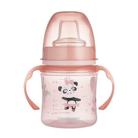 Поильник Canpol Babies Sweet fun 120мл Розовый 250989193