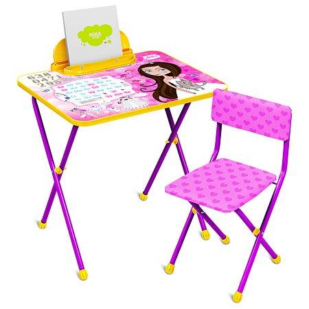 Комплект мебели NiKA kids Маленькая принцесса КП2/17