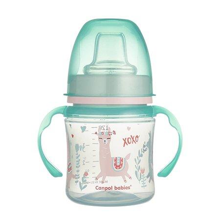 Поильник Canpol Babies Sweet fun 120мл Зеленый 250989194