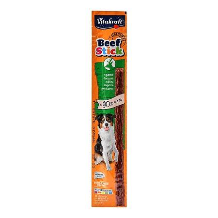 Лакомство для собак Vitakraft Beef Stick Колбаска оленина 12г 26501