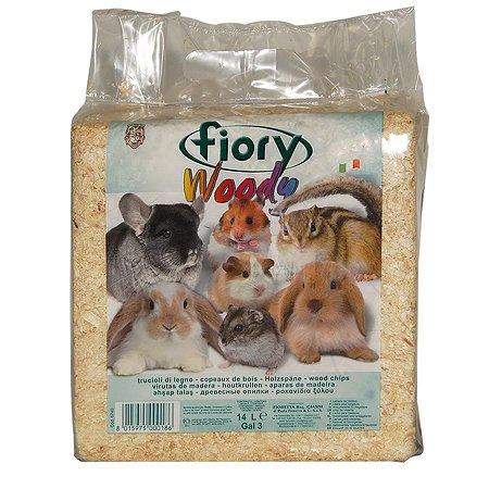 Опилки для грызунов Fiory Woody 14л