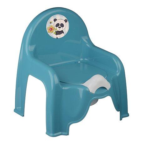 Горшок-стульчик IDEA Панда М 2596