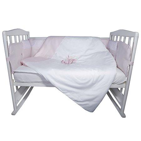 Комплект постельного белья Эдельвейс Фламинго 4предмета 10417