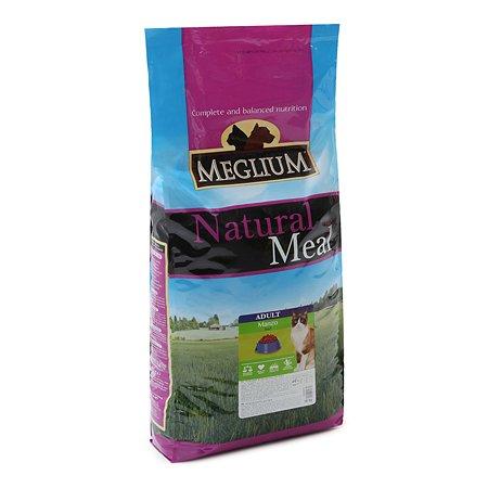 Корм сухой для кошек Meglium Adult 15кг говядина