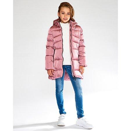 Пальто Futurino розовое