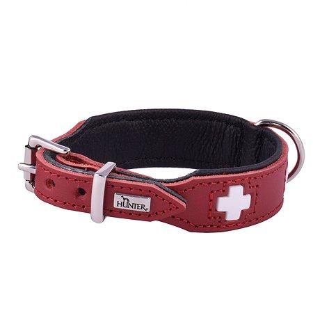 Ошейник для собак Hunter Swiss 42 Красный-Черный