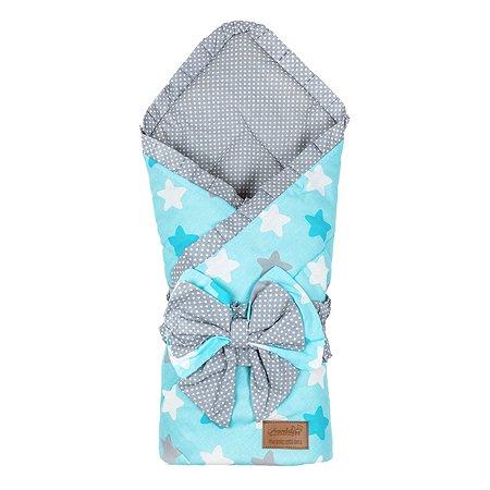 Одеяло на выписку AMARO BABY Daisy Звездочка ABDM-6003-PG