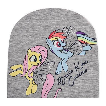 Шапка My Little Pony серая