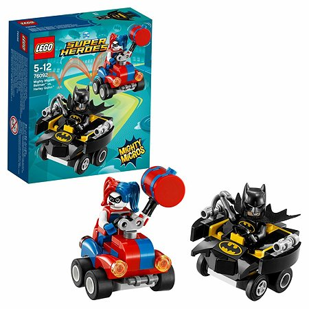 Конструктор LEGO Mighty Micros: Бэтмен против Харли Квин Super Heroes (76092)