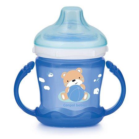 Чашка Canpol Babies Sweet fun 180мл Голубая 57/300_blu