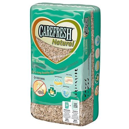 Наполнитель для мелких домашних животных CareFresh natural бумажный натуральный впитывающий 1.06кг