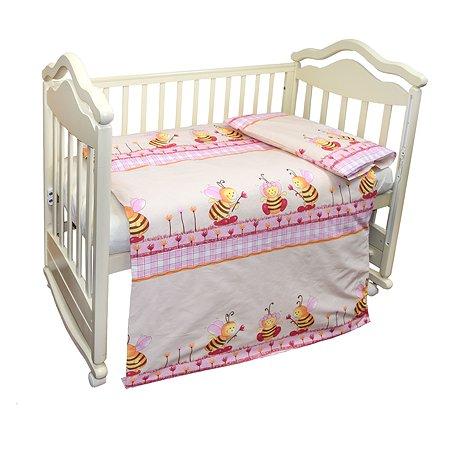 Комплект постельного белья L'Abeille Пчёлки 2предмета 2903