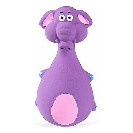 Игрушка для собак Грызлик Ам Слон Фиолетовый