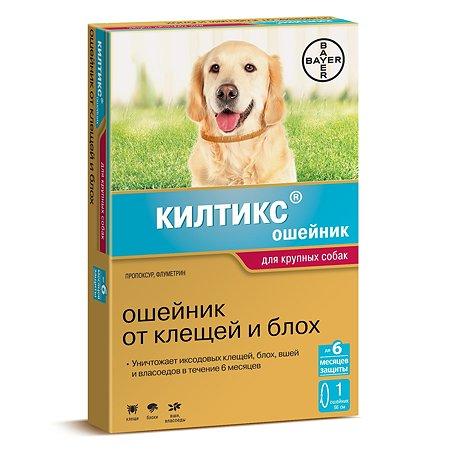 Ошейник для собак BAYER Килтикс против блох и клещей 66см