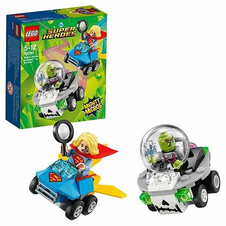 Конструктор LEGO Mighty Micros: Супергёрл против Брейниака Super Heroes (76094)