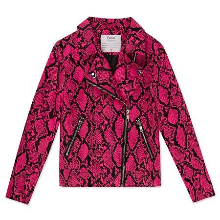 Куртка Futurino Fashion неоновая розовая