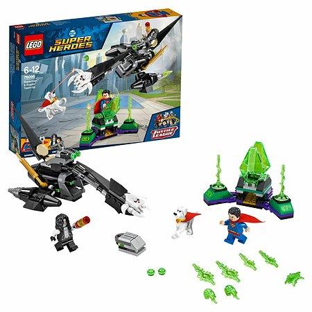 Конструктор LEGO Супермен и Крипто объединяют усилия Super Heroes (76096)