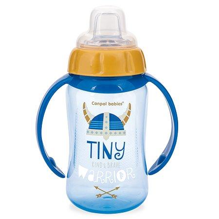 Поильник Canpol Babies Tiny warrior c 6месяцев 250989321