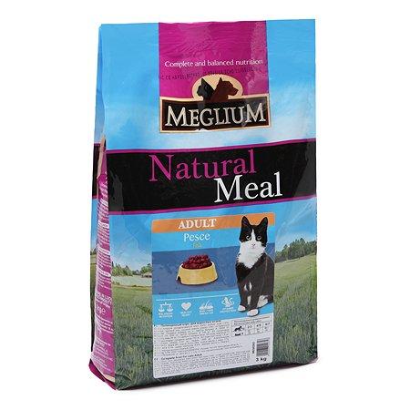 Корм сухой для кошек Meglium Adult 3кг рыба