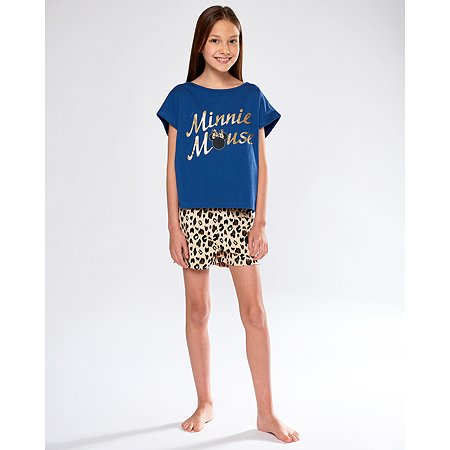 Пижама Minnie Mouse футболка + шорты