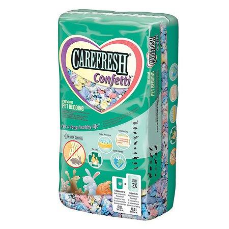 Наполнитель для мелких домашних животных CareFresh color бумажный впитывающий Разноцветный 1.12кг