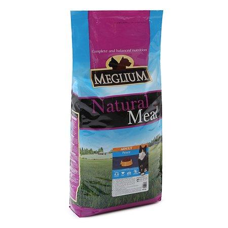 Корм сухой для кошек Meglium Adult 15кг рыба