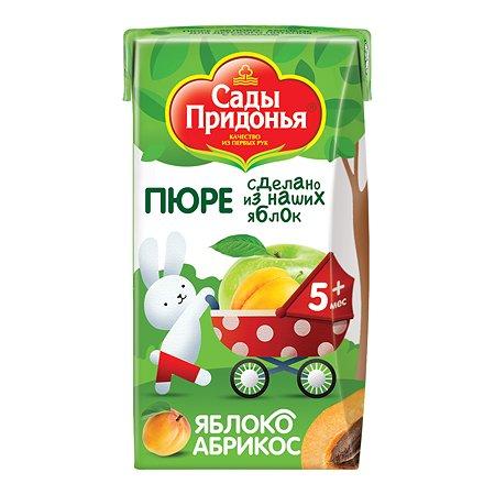Пюре Сады Придонья яблоко-абрикос 125г с 5месяцев