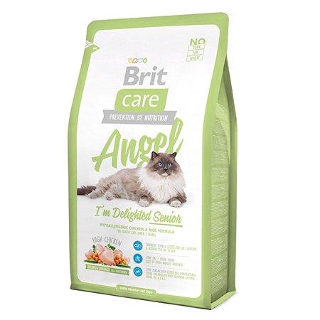 Корм сухой для кошек Brit Care 2кг пожилых