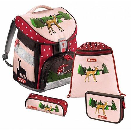 Ранец Hama Step By Step Comfort Lovely Deer розовый / рисунок