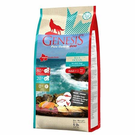 Корм для собак Genesis Pure Canada Blue Ocean Adult с лососем сельдью и курицей 2.268кг