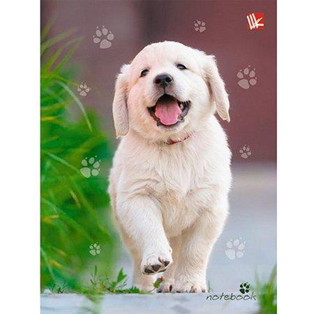 Книга для записей  А6 Listoff Счастливый щенок 64 листа (клетка)