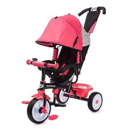 Велосипед Kreiss с тентом Розовый