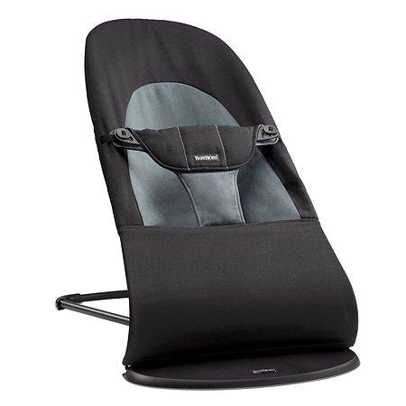 Кресло-шезлонг BabyBjorn Balance Soft (черно-серый)