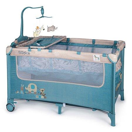 Манеж-кровать Babyton Blue