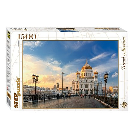Пазл Step Puzzle Храм Христа Спасителя 1500элементов 83053