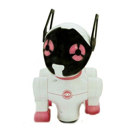 Игрушка HK Industries Собака интерактивная белый/розовый