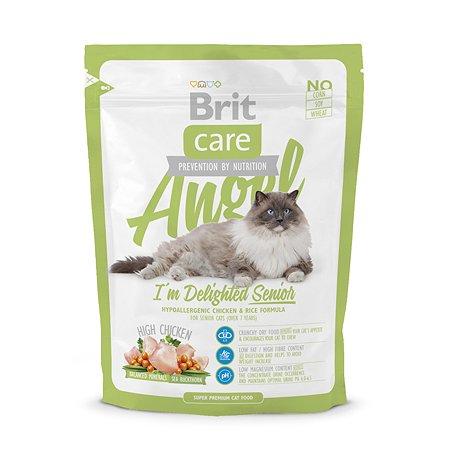 Корм сухой для кошек Brit Care 400г пожилых