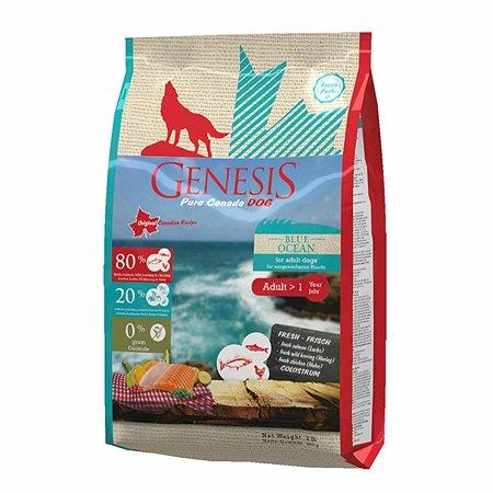 Корм для собак Genesis Pure Canada Blue Ocean Adult с лососем сельдью и курицей 907г