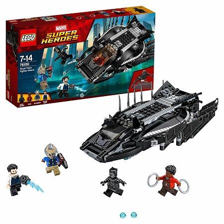 Конструктор LEGO Нападение Королевского Когтя Super Heroes (76100)