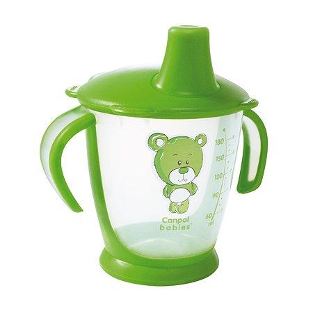 Чашка Canpol Babies Медвежонок 180мл Зеленый 250930130