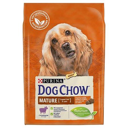 Корм для собак Dog Chow Mature с ягненком 2.5кг