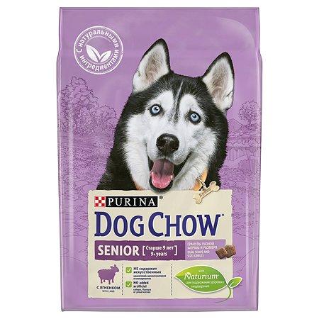 Корм для собак Dog Chow для пожилых с ягненком сухой 2.5 кг