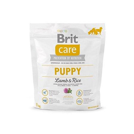 Корм для щенков Brit Care всех пород с ягненком и рисом сухой 1кг