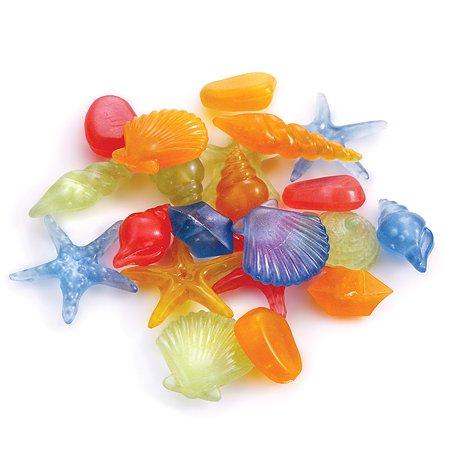 Ракушки для рыб Laguna морские Разноцветные 100шт
