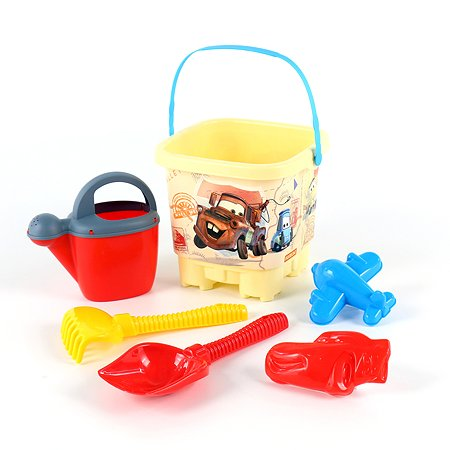 Набор для песочницы Полесье Disney Pixar Тачки №34
