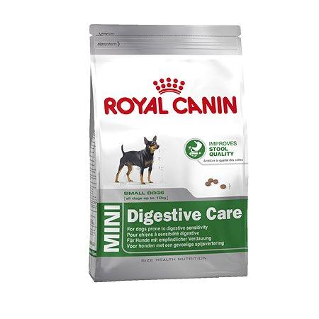 Корм для собак ROYAL CANIN Digestive Care мелких пород с чувствительным пищеварением 4кг