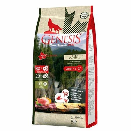 Корм для собак Genesis Pure Canada Deep Canyon Adult с курицей ягненком и козой 2.268кг