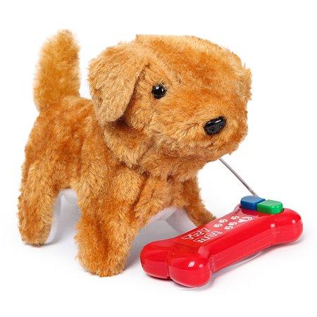 Собачка интерактивная Laffi Бежевая YS930862