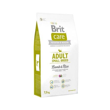 Корм для собак Brit Care мелких пород с ягненокм и рисом 7.5кг